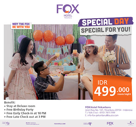 Fox Hotels Pekanbaru - ASpesial Day